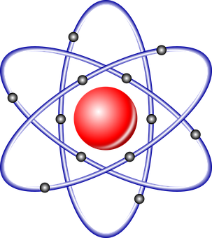 Atom Nucleus, Nuclear, Atom