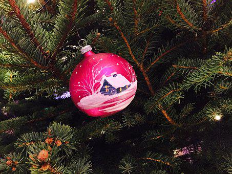 Christmas, Ball, Christmas Bauble, Christmas Time