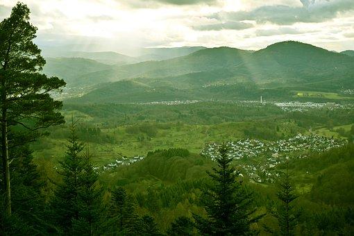 Black Forest, Murg Valley, Lichtspiel, Highlands