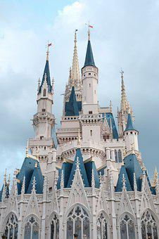 Castle, The Disneyland Resort, Disney, Building