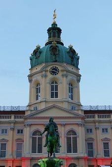 Berlin, Charlottenburg Palace, Castle, Residence