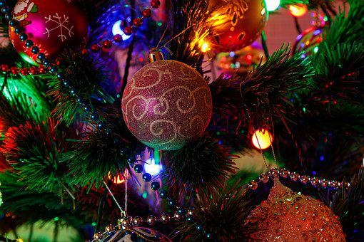 New Year's Eve, Christmas Tree, Christmas Tree Toy