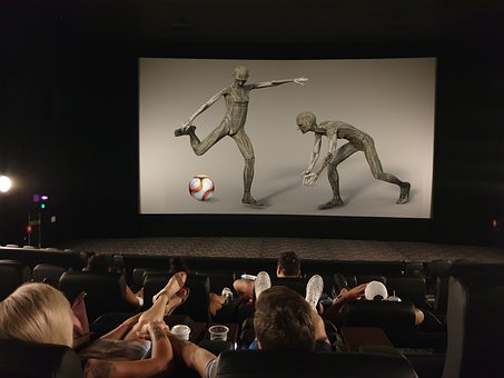 Photomontage, Cinema, Film, Theatre, Screen, Football