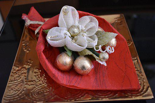 Christmas, Bouquet, Flower, Decoration, Ornament