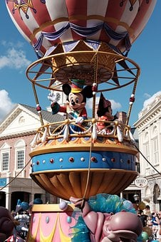 He, Mickey Mouse, The Disneyland Resort, Disney, Mouse