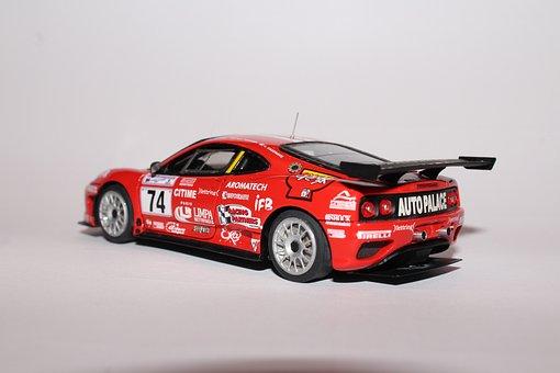 Ferrari, Car, Models, Small Scale Models, F360 Gt