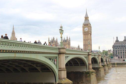 England, London, Bridge, Landmark, Famous, Thames