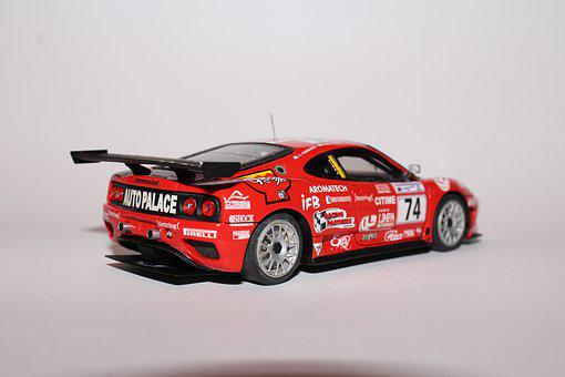 Ferrari, Car, Models, Small Scale Models, F360 Gt