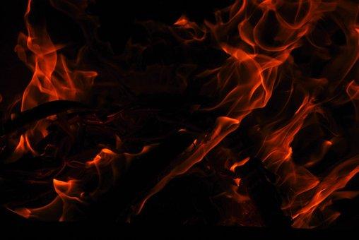 Fire, Flame, Fireplace, Burn, Heat, Hot, Glow, Campfire