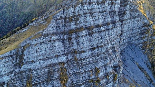 Drone, Luftbildaufnahme, Flying, Mountain, Quadrocopter