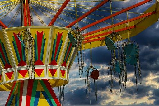 Carousel, Fair, Year Market, Folk Festival, Ride