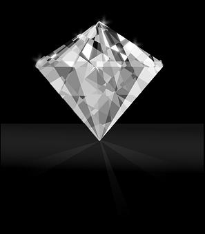 Diamond, Gem, White, Clear, Stone, Luxury, Jewelry
