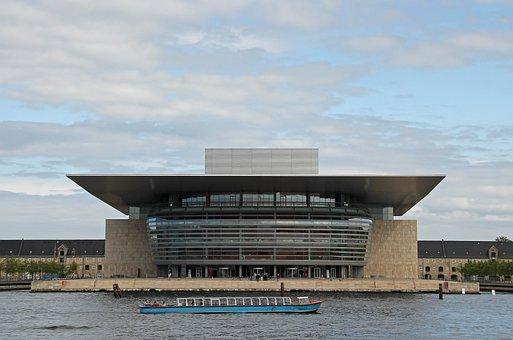 Opera, Island Of Holmen, Holmen, Port, Nyhavn