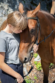 Girl, Horse, Pony, Ride, Love, Horse Love, Together
