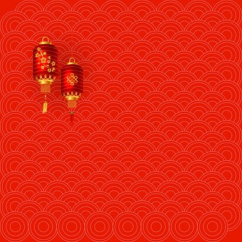 Chinese New Year, Lantern, Red, 2020, Chinese, China