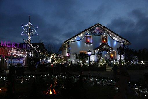 Christmas, Lighting, Christmas Decoration, Festive