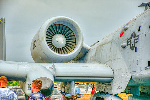 A-10, Warthog, P, Aircraft, Aviation, Airplane, Jet