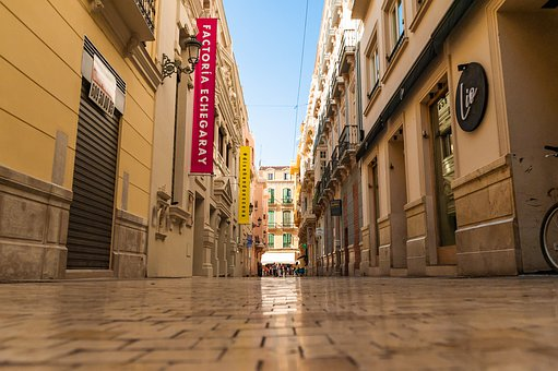 Malaga, Spain, Andalusia, Marbella, Street, Pov