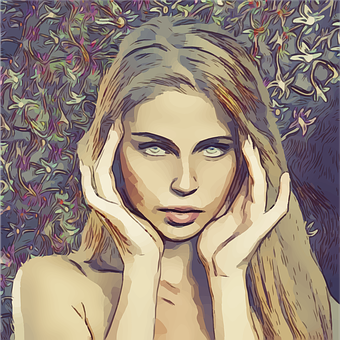 Headache, Pretty, Blonde, Woman, Female, Adult