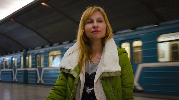 Metro, Girl, The Passenger, Stand By, Waiting, Subway