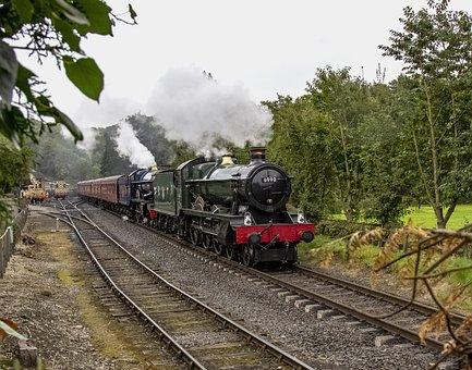 Train, Steam, Locomotive, Smoke, Nostalgia, Historical