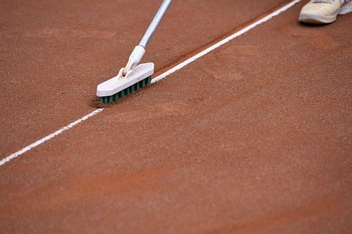 Tennis Court, Clay Court, Line Broom, Limit