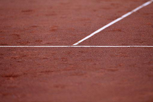 Tennis Court, Clay Court, Lines