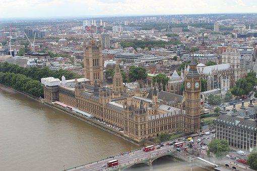 England, London, Thames, Parliament, City, Uk, River