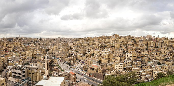 Amman, Jordan, The Capital Of The Country, Old