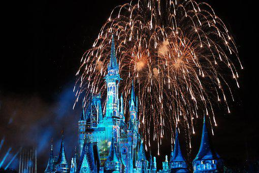The Disneyland Resort, Castle, Disney, Building