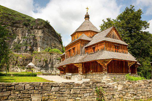 Ukraine, Kamieniec, Orthodox Church, Architecture