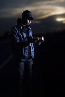 Winter Solstice, Dark Portraits, Photography