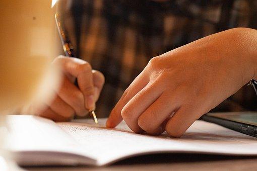 Pen, Written, Girl, Letter, Paper, Ink, Play, Lessons