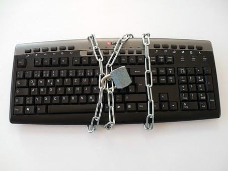 Keyboard, Sure, Privacy Policy, Castle, Padlock, Chain