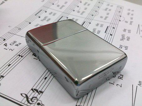Lighter, Music Sheet, Chromium