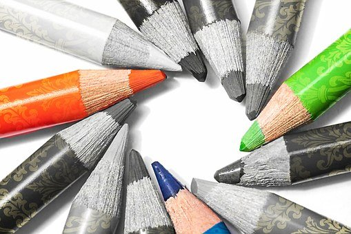 Pens, Colored Pencils, Colour Pencils, Draw, Pointed