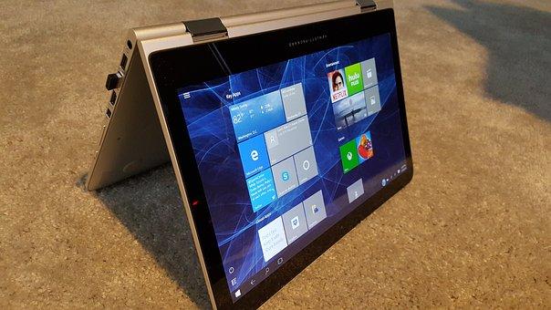 Computer, Laptop, Windows 10, Hybrid, Tablet Pc