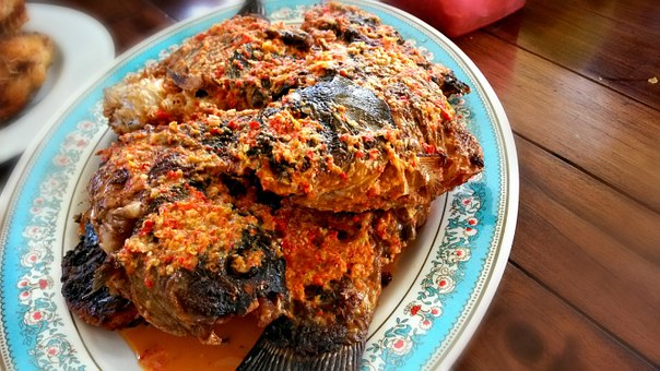 Indonesian, Cuisine, Fish, Spicy, Chilli, Seafood
