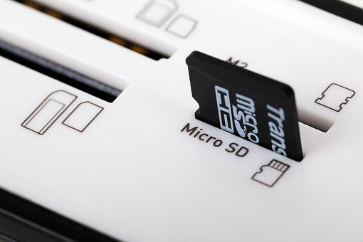 Sd Card, Compact, Data, Digital, Disk, Electronic