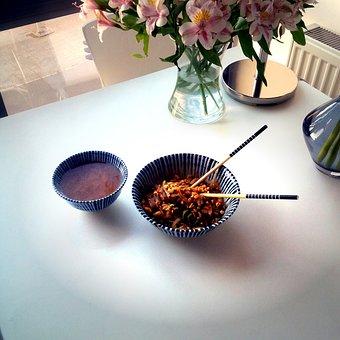 Noodles, Food, Cuisine, Meal, Lunch, Dinner, Restaurant