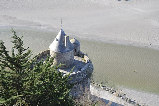 Mont Saint Michel, Fortification, Pierre, Keep, France