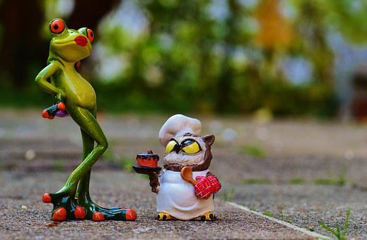 Frog, Owl, Bake, Love, I Beg Your Pardon, Cake Apology