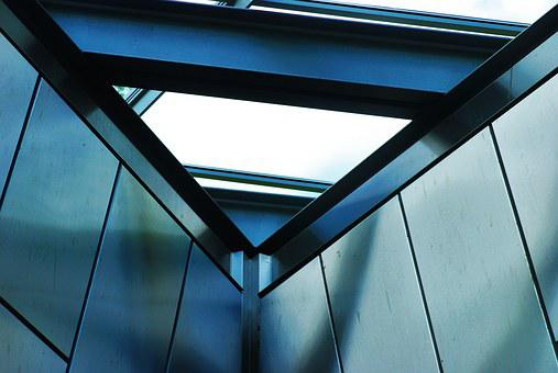 Geometry, Geometric, Blue, Light, Roof