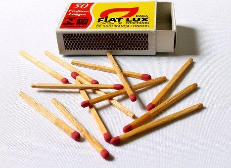 Matches, Matchbox, Toothpick Matches, Toothpicks, Box