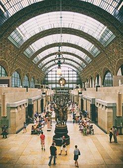 Musée D'orsay, Paris, Museum, France, Architecture