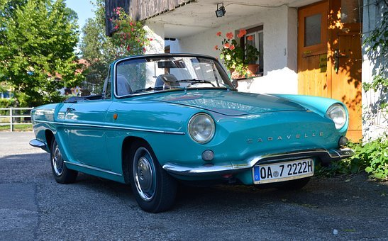 Oldtimer, Renault, Caravelle, Auto