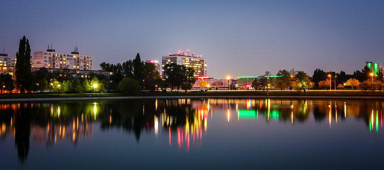 In The Evening, Lake, štrkovec, Hospital, Ružinov