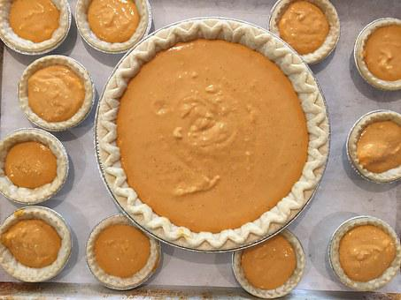 Pumpkin, Pie, Food, Delicious, Seasonal, Decoration
