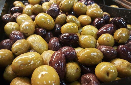 Olives, Pitted, Gigante, Sevillano, Mediterranean