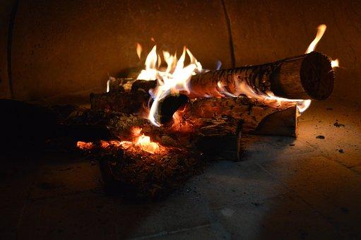 Fire, Firewood, Wood Stove, Coal, Wood